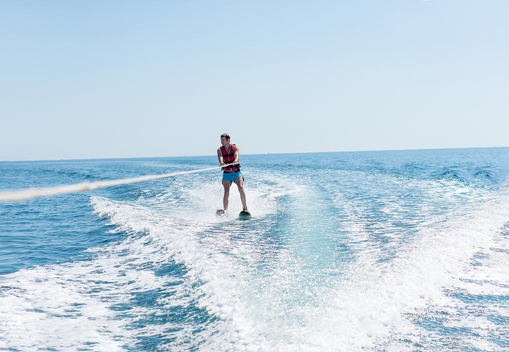 water skiing san Diego
