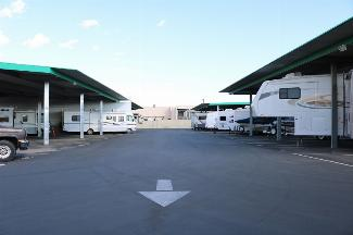 storamerica victorville locust storage facility rv parking covered