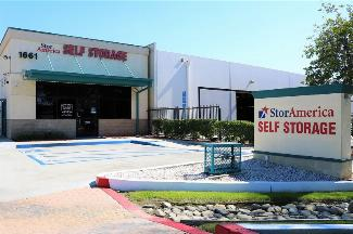 storamerica ontario self storage facility main