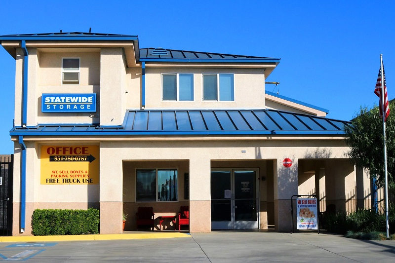 storamerica statewide self storage facility front office exterior main
