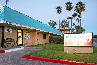 storamerica palm springs self storage facility main