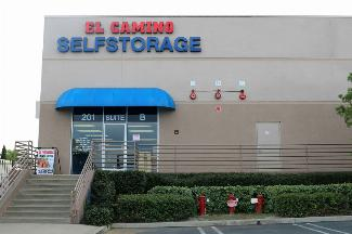 storamerica el camino self storage facility front office exterior main