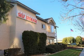 storamerica corona universal self storage facility office exterior-1