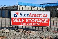 storamerica apple valley powhatan self storage facility property sign