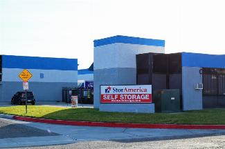 storamerica anaheim self storage facility front office exterior main