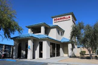 storamerica coachella self storage & RV facility office exterior main
